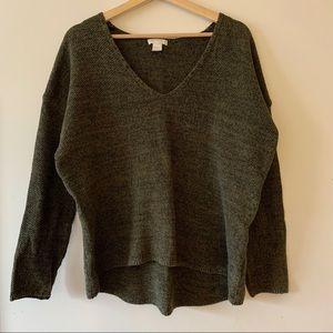 Olive oversized sweater